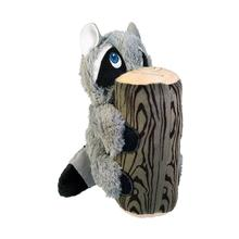 KONG Huggz Hiderz Dog Toy - Raccoon