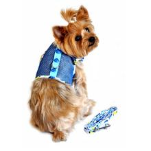 Cool Mesh Dog Harness by Doggie Design- Blue Ladybug