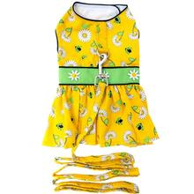 Ladybugs and Daisies Dog Harness Dress with Leash by Doggie Design
