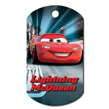 Large Military Engravable Pet I.D. Tag - Disney© Lightning McQueen