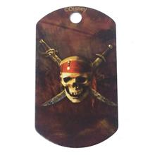 Large Military Engravable Pet I.D. Tag - Disney© Pirates of the Caribbean
