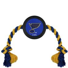 St. Louis Blues Hockey Puck Dog Toy