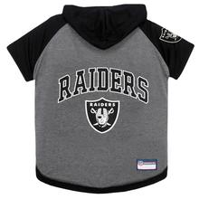 Las Vegas Raiders Hooded Dog T-Shirt