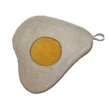Leather Egg Dog Toy
