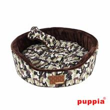 Legend House Dog Bed by Puppia - Brown Camo