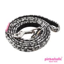 Leo Pug Dog Leash by Pinkaholic - Black