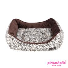 Leo Pug House Dog Bed by Pinkaholic - Brown