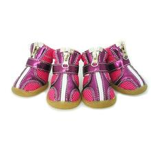 Sporty Dog Boots - Purple & Magenta