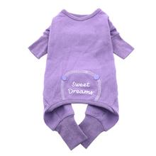Sweet Dreams Thermal Dog Pajamas by Doggie Design - Lilac