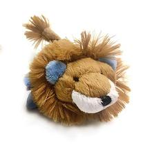 Lion Safari Baby Pipsqueak Dog Toy By Oscar Newman - Blue