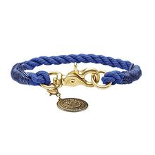 List Rope Small Dog Collar by HUNTER - Dark Blue