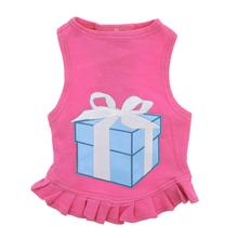 Little Blue Box Dog Dress by Daisy and Lucy - Pink