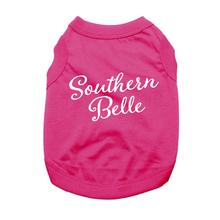 Southern Belle Dog Shirt - Raspberry