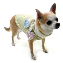 89d0fa4e547 Little Sweet Hearts Dog Sweater and Scarf Set by Oscar Newman