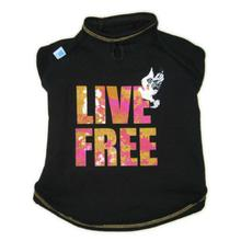 Live Free Dog Shirt from Ruffluv NYC