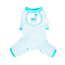 Llama Dog Pajamas by Pooch Outfitters - Blue