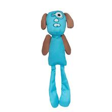 Longshots Ballistic Moondoggie Dog Toy - Blue