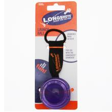 Longshots Launch Ball Dog Toy - Purple