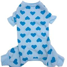 Lookin' Good Heart Dog Pajamas - Blue