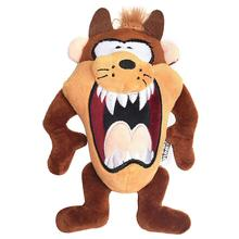 Looney Tunes Taz Big Head Plush Dog Toy
