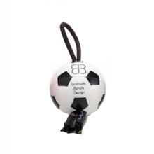 Looper Sport Waste Bag Dispenser - White Soccer Ball