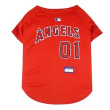 Los Angeles Angels Officially Licensed Dog Jersey - Red