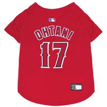Los Angeles Angels Shohei Ohtani Dog Jersey - Red