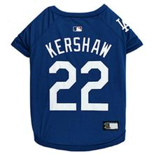 Los Angeles Clayton Kershaw Dog T-Shirt - Blue