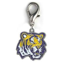 Louisiana State University Dog Collar Charm - Tiger