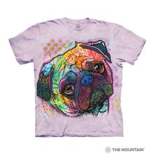 Lovable Pug Human T-Shirt by The Mountain