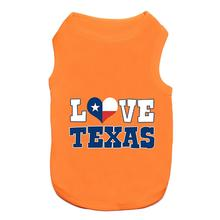 Love Texas Dog Tank