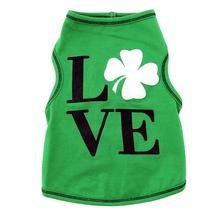 Love Shamrock Pet Tank - Green