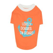 Lovely Doggie Dog Shirt by Puppia - Orange