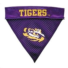 LSU Tigers Dog Bandana Collar Slider