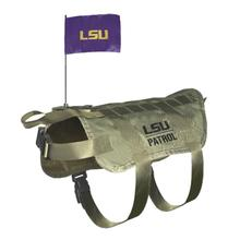 LSU Tigers Tactical Vest Dog Harness