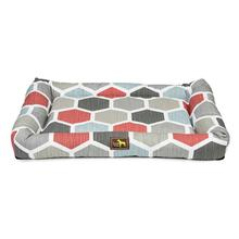Luca Crate Cuddler Dog Bed - Hexagon