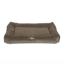 Luca Crate Cuddler Dog Bed - Taupe