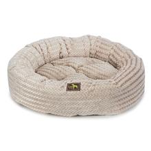 Luca Nest Plush Dog Bed - Cream Swirl