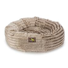 Luca Nest Plush Dog Bed - Oatmeal Swirl