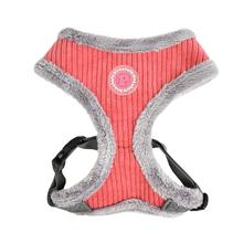 Lucca Dog Harness by Pinkaholic - Dark Pink