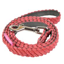Lucca Dog Leash by Pinkaholic - Dark Pink