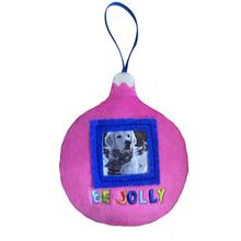 Lulubelles Picture Frame Ornament for Dogs - Be Jolly