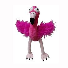 Lulubelles Power Plush Dog Toy - Flo Rida Flamingo