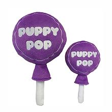 Lulubelles Power Plush Dog Toy - Grape Puppy Pop