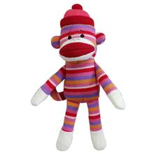 Lulubelles Power Plush Dog Toy - Sock Monkey Kat