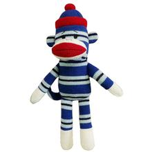 Lulubelles Power Plush Dog Toy - Sock Monkey Matt