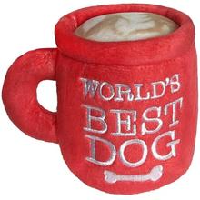 Lulubelles Power Plush Dog Toy - World's Best Dog Coffee Mug