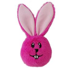 Lulubelles Power Plush Dust Bunny Dog Toy - Pink