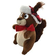 Lulubelles Power Plush Holiday Dog Toy - Chester