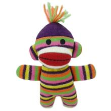 Lulubelles Power Plush Dog Toy - Sock Monkey Baby Lala